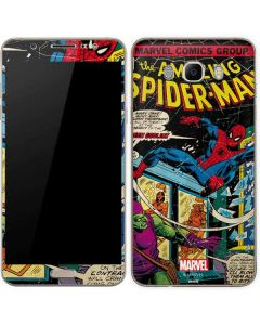 Marvel Comics Spiderman Galaxy J7 Skin