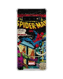 Marvel Comics Spiderman Galaxy S10 Clear Case