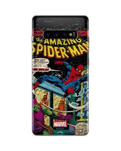 Marvel Comics Spiderman Galaxy S10 Plus Skin