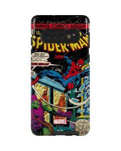 Marvel Comics Spiderman Galaxy S10 Pro Case