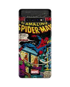 Marvel Comics Spiderman Galaxy S10 Skin