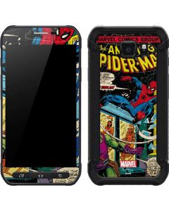 Marvel Comics Spiderman Galaxy S6 Active Skin