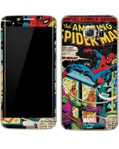 Marvel Comics Spiderman Galaxy S7 Edge Skin