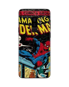Marvel Comics Spiderman Galaxy S9 Plus Skin