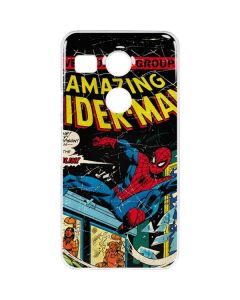 Marvel Comics Spiderman Google Nexus 5X Clear Case