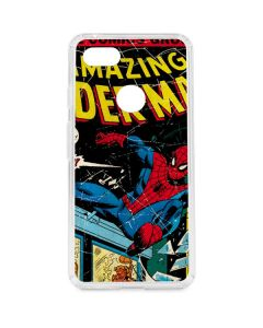 Marvel Comics Spiderman Google Pixel 3 XL Clear Case