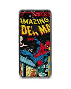 Marvel Comics Spiderman Google Pixel 3a XL Clear Case