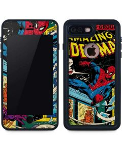 Marvel Comics Spiderman iPhone 8 Plus Waterproof Case