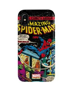 Marvel Comics Spiderman iPhone X Pro Case