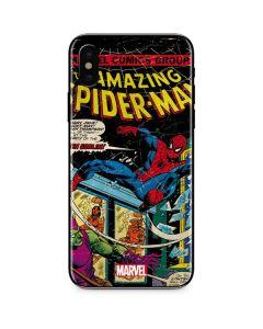 Marvel Comics Spiderman iPhone X Skin