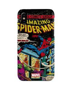 Marvel Comics Spiderman iPhone XS Lite Case