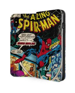 Marvel Comics Spiderman iPhone XS Max Folio Case