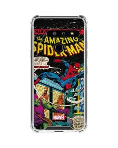 Marvel Comics Spiderman LG G8 ThinQ Clear Case
