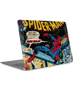 Marvel Comics Spiderman Apple MacBook Air Skin