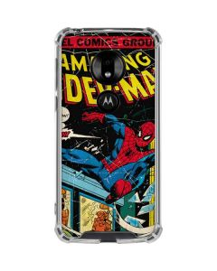 Marvel Comics Spiderman Moto G7 Play Clear Case