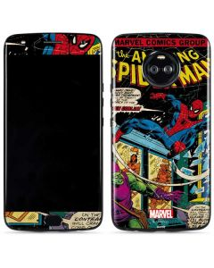 Marvel Comics Spiderman Moto X4 Skin