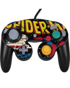 Marvel Comics Spiderman Nintendo GameCube Controller Skin