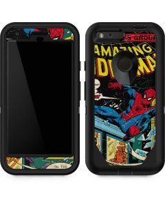 Marvel Comics Spiderman Otterbox Defender Pixel Skin