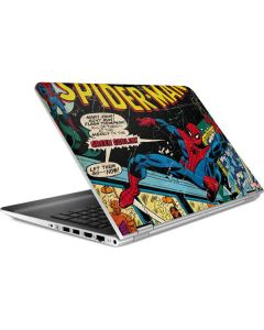 Marvel Comics Spiderman HP Pavilion Skin