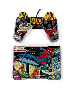 Marvel Comics Spiderman PlayStation Classic Bundle Skin
