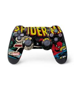 Marvel Comics Spiderman PS4 Pro/Slim Controller Skin
