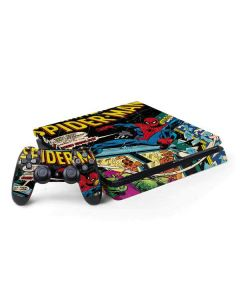 Marvel Comics Spiderman PS4 Slim Bundle Skin
