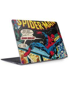 Marvel Comics Spiderman Surface Laptop 2 Skin
