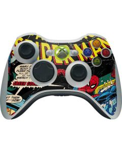 Marvel Comics Spiderman Xbox 360 Wireless Controller Skin