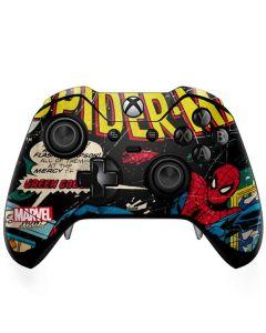 Marvel Comics Spiderman Xbox One Elite Controller Skin