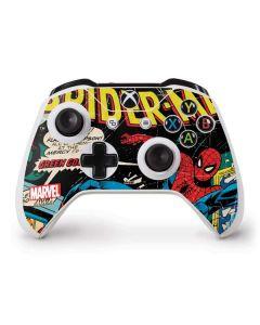 Marvel Comics Spiderman Xbox One S Controller Skin