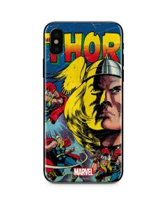 Marvel Comics Thor iPhone XS Max Skin