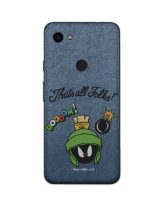 Marvin Thats All Folks Google Pixel 3a Skin