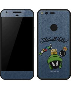 Marvin Thats All Folks Google Pixel Skin