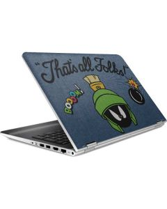 Marvin Thats All Folks HP Pavilion Skin