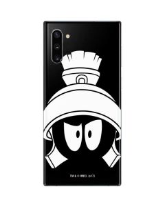 Marvin the Martian Black and White Galaxy Note 10 Skin