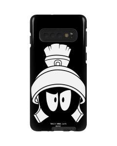 Marvin the Martian Black and White Galaxy S10 Pro Case