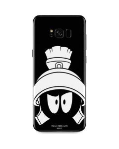 Marvin the Martian Black and White Galaxy S8 Skin