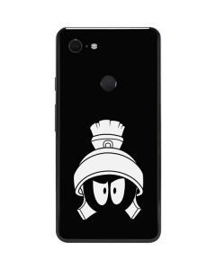 Marvin the Martian Black and White Google Pixel 3 XL Skin