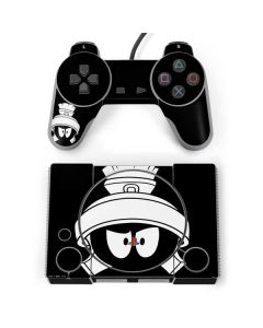 Marvin the Martian Black and White PlayStation Classic Bundle Skin