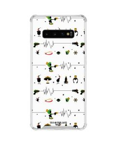 Marvin the Martian Gadgets Galaxy S10 Plus Clear Case