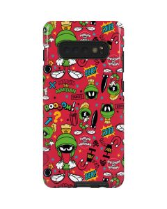Marvin the Martian Patches Galaxy S10 Plus Pro Case