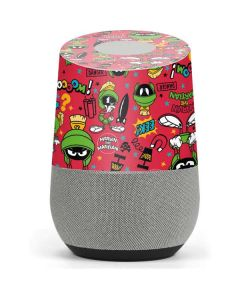 Marvin the Martian Patches Google Home Skin