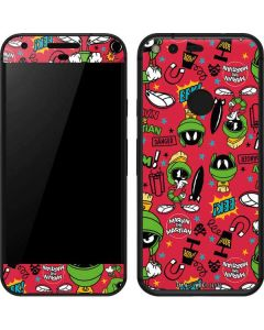 Marvin the Martian Patches Google Pixel Skin