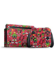 Marvin the Martian Patches Nintendo Switch Bundle Skin