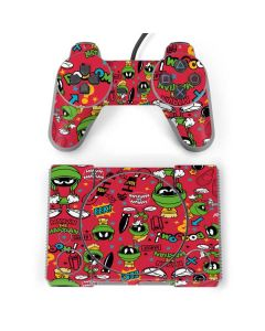 Marvin the Martian Patches PlayStation Classic Bundle Skin