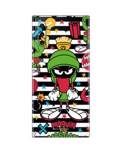 Marvin the Martian Striped Patches Galaxy Note 10 Skin