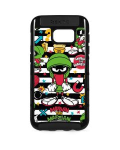Marvin the Martian Striped Patches Galaxy S7 Edge Cargo Case