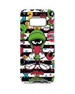 Marvin the Martian Striped Patches Galaxy S8 Pro Case
