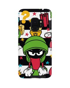 Marvin the Martian Striped Patches Galaxy S9 Pro Case