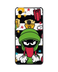 Marvin the Martian Striped Patches Google Pixel 3 XL Skin